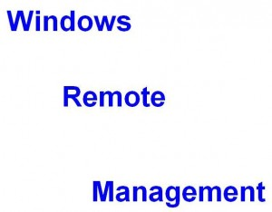 Windows Remote Management